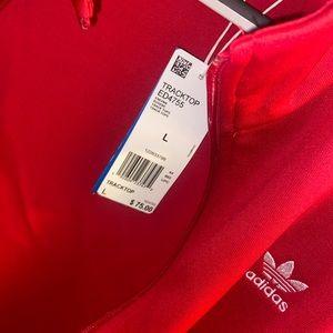 Adidas track top jacket